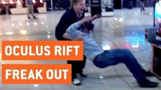 Oculus Rift Roller Coaster Freakout | Virtual Reality