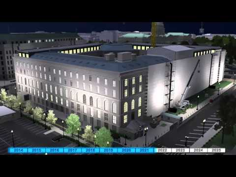 Timeline Animation of Cannon House Office Building Renewal