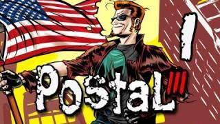 Postal III Walkthrough - Part 1 The Postman Returns English Let's Play