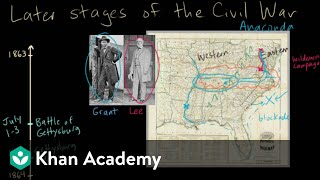 Later stages of the Civil War part 1