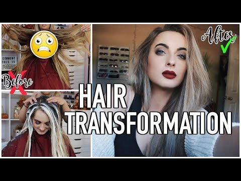 Hair Transformation | My New Hair | Brunette to Blonde