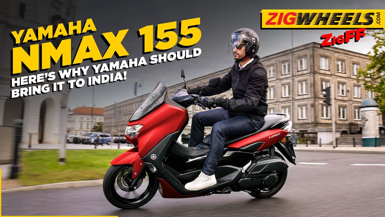 Bikes We'd Like To See In India - Yamaha NMax 155 | Price, Features, Engine & More | BikeDekho