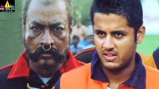 Sye Movie Nithin and Pradeep Rawat Action Scenes Back to Back | SS Rajamouli Movies@SriBalajiMovies - SRIBALAJIMOVIES