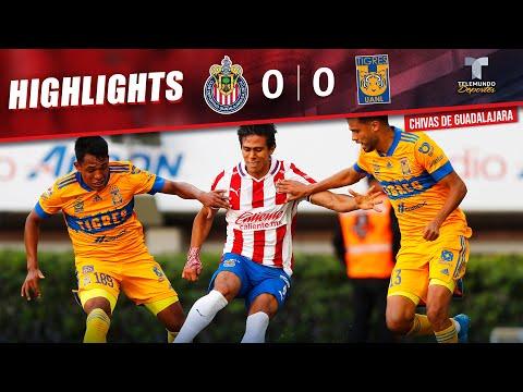Chivas vs. Tigres 0-0 | Highlights & Goals (ENGLISH) | Telemundo Deportes