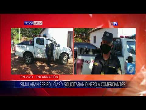Arrestan a hombre que simulaba ser policía para exigir dinero