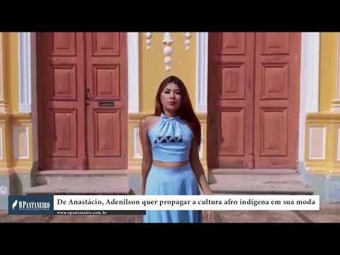 De Anastácio, Adenilson quer propagar a cultura afro indígena em sua moda