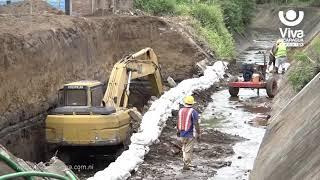 Supervisan construcción de nuevo puente vehicular en Managua