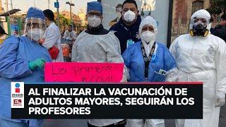 Médicos privados y López Obrador chocan con aplicación de vacuna anticovid