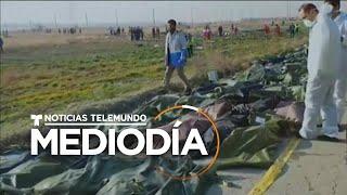 El avión ucraniano accidentado pudo ser derribado por un misil iraní   Noticias Telemundo