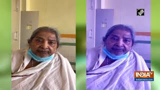 94-year-old Hyderabad woman wins battle against COVID-19 - INDIATV