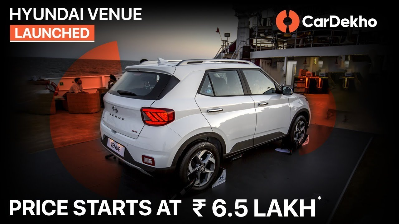Hyundai Venue Launch Walkaround (Hindi) Specs, Prices And Features