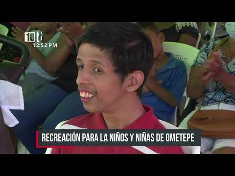 Celebran a niñez con discapacidad en la Isla de Ometepe - Nicaragua