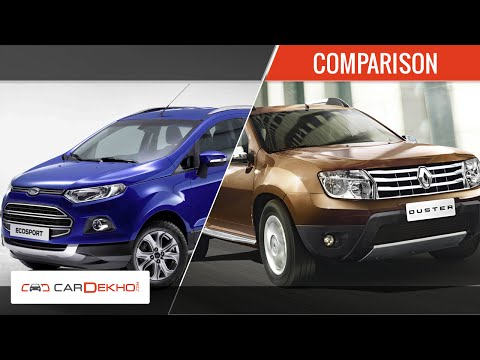 renault duster vs ford ecosport comparison review. Black Bedroom Furniture Sets. Home Design Ideas