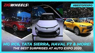 MG RC6, Tata Sierra, Haval F7, Renault Duster & More! | Auto Expo 2020 Surprises | ZigWheels.com