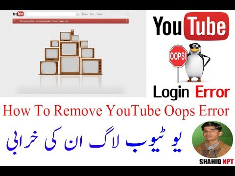 how to fix youtube when it says something went wrong