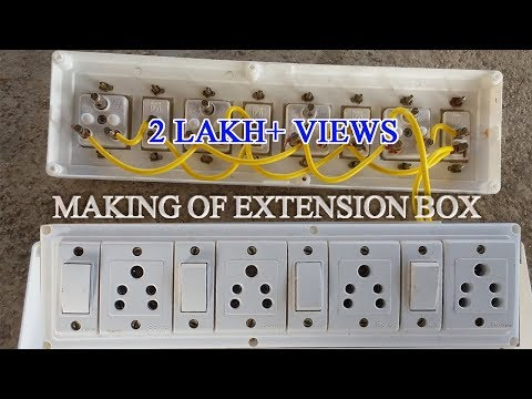 how to make electric extension board pdf