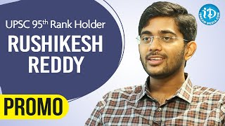 UPSC 95th Rank Holder Rushikesh Reddy Exclusive Interview Promo | Dil Se With Anjali #226 - IDREAMMOVIES
