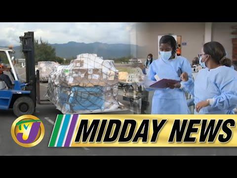 Covid Vaccine Shortage in Jamaica | TVJ Midday News - June 18 2021