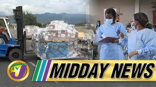 Covid Vaccine Shortage in Jamaica   TVJ Midday News - June 18 2021