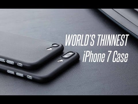 WORLD'S Thinnest iPhone Case