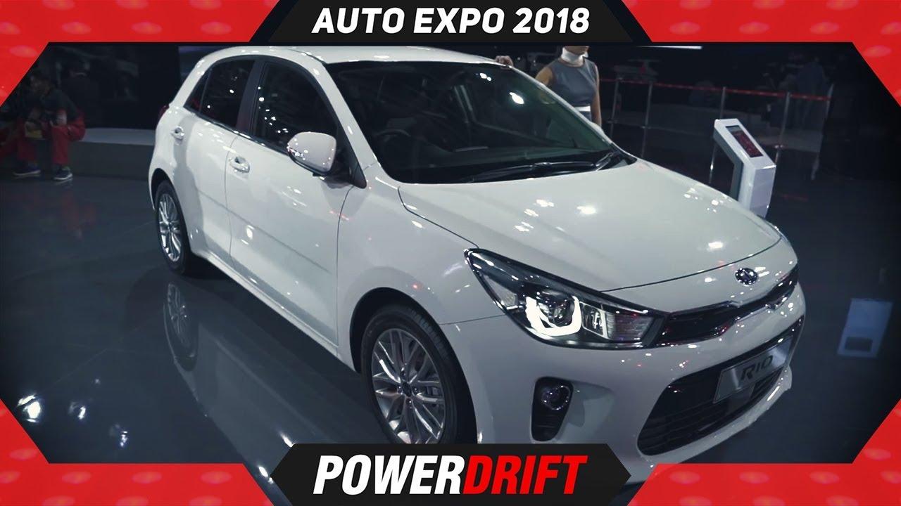 2018 Kia Rio @ Auto Expo : PowerDrift