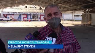 Hospitales de Quetzaltenango en su máxima capacidad