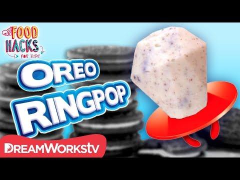 connectYoutube - Cookies n Creme Ringpop + More Oreo Hacks   FOOD HACKS FOR KIDS