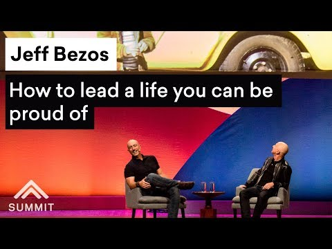 connectYoutube - How to lead a life you can be proud of — Jeff Bezos