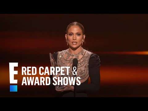 """connectYoutube - Jennifer Lopez is The People's Choice for """"Favorite TV Crime Drama Actress"""""""