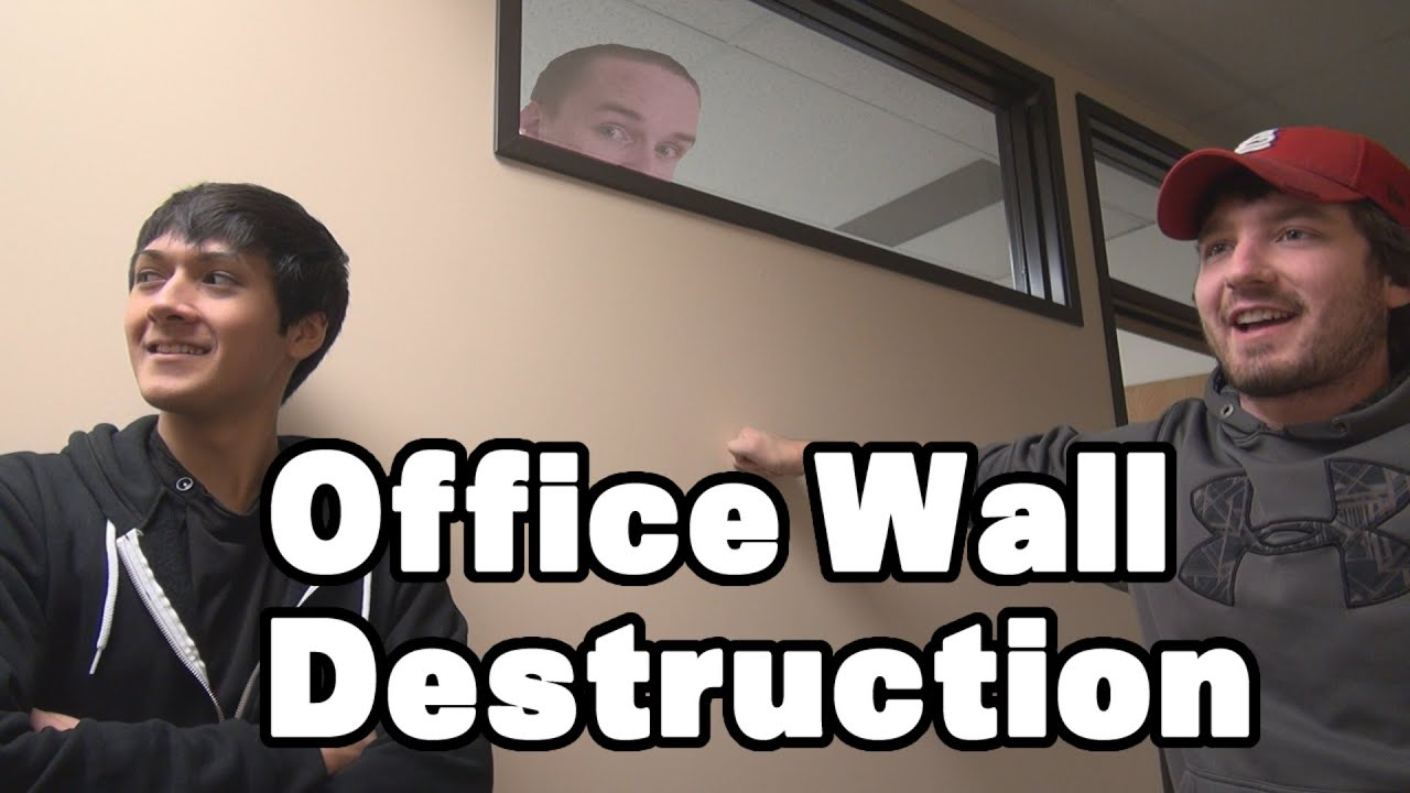 Office Wall Destruction