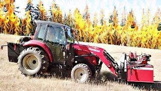 World's First Yanmar Firefighting Tractor