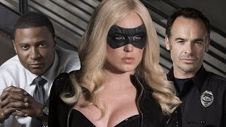 Arrow Cast Interview - Black Canary, John Diggle, and Detective Lance - Comic Con 2014