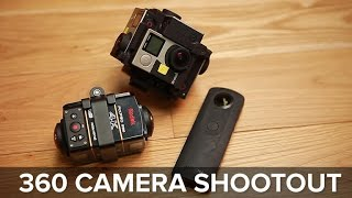 GoPro, Pixpro, or Ricoh? Finding the best 360 camera