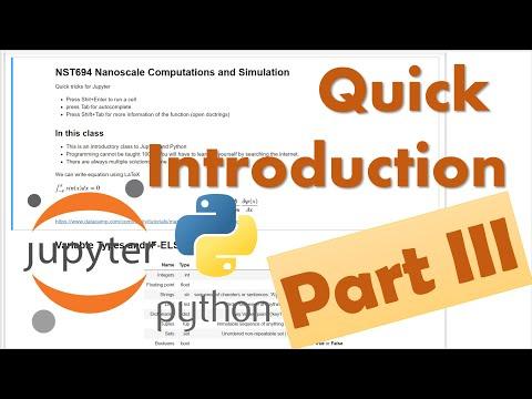 Scientific-Python-1.3:-Basics-
