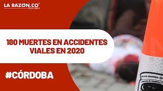 En Córdoba 180 personas perdieron la vida en accidentes viales en 2020