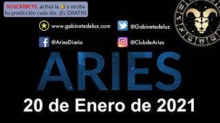 Horóscopo Diario - Aries - 20 de Enero de 2021.