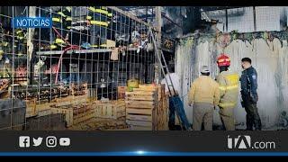 Comerciantes afectados por incendio en el mercado Mayorista fueron reubicados