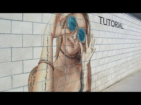 Graffiti Portrait Effect | Photoshop Tutorial | Photo Effects