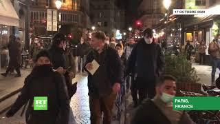 Paris : mobilisation locale contre le couvre-feu