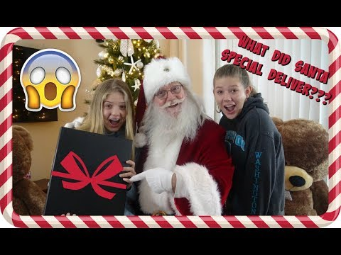 connectYoutube - SANTA SURPRISED US CHRISTMAS MORNING!! **NOT CLICKBAIT**    Taylor and Vanessa