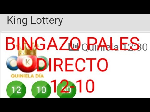Numeros para hoy (12-10)bingazo en kin loterry