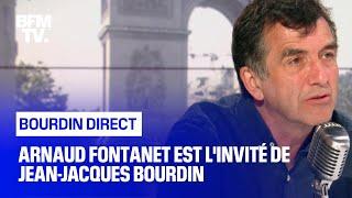 Arnaud Fontanet face à Jean-Jacques Bourdin en direct