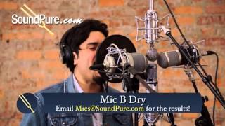 Vocal Mic Shootout: Lauten Oceanus, Miktek CV4, CharterOak SA538, Peluso VTB