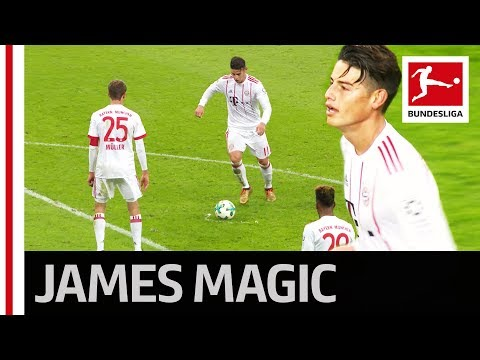 Perfect Free Kick - James Rodriguez' Wondergoal For Bayern