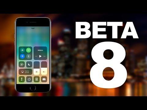BETA 8 iOS 11 | NOVEDADES