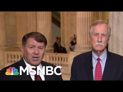 connectYoutube - Senator Angus King: There Was A Win For The American People In Shutdown   Morning Joe   MSNBC
