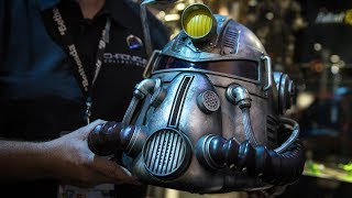 Fallout 76 Power Armor Edition T-51 Helmet!