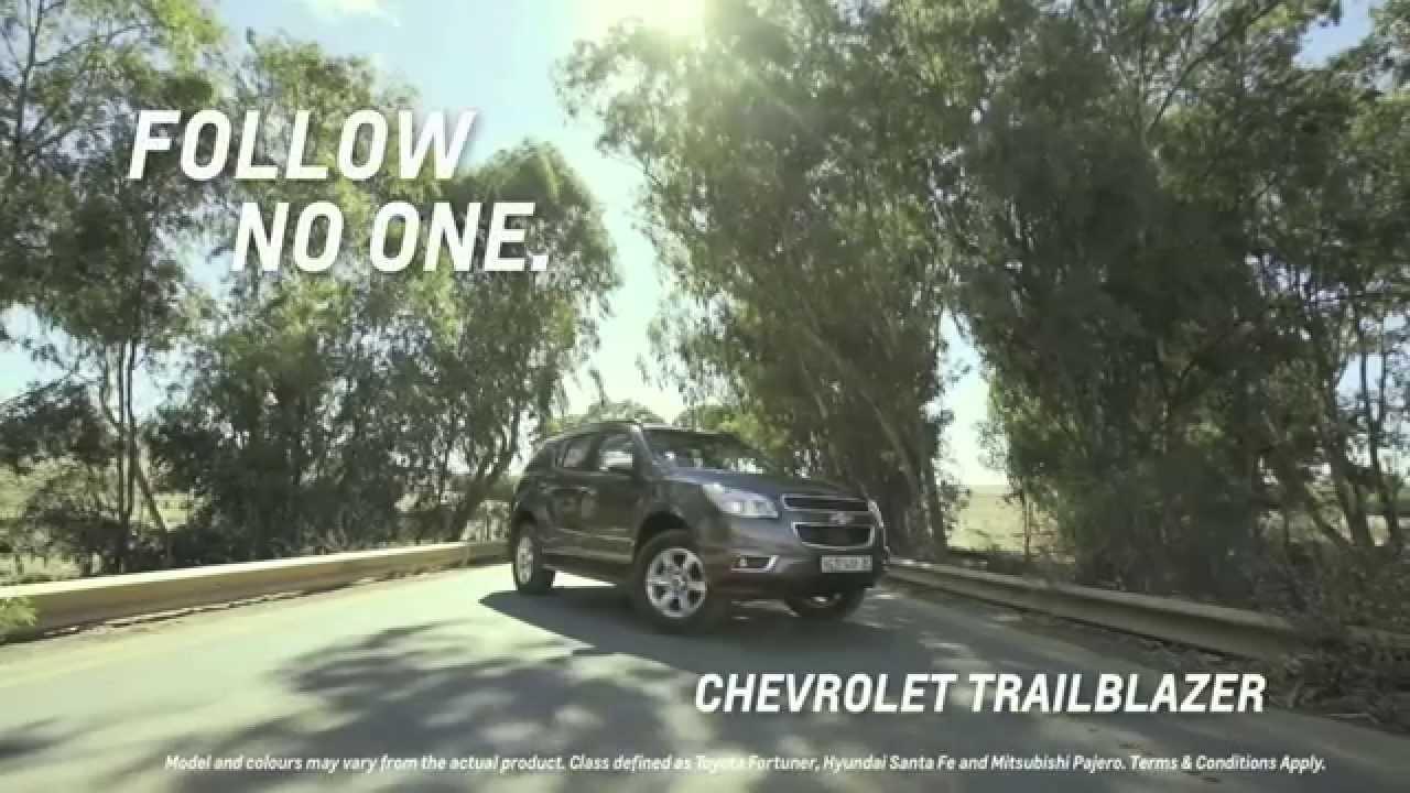 Hail the Chevrolet Traiblazer  Chevrolet India