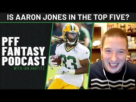 Is Aaron Jones worthy of top-five treatment | PFF Fantasy Files