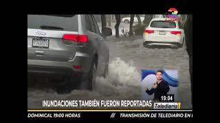 Ciudad capital colapsada por las fuertes lluvias